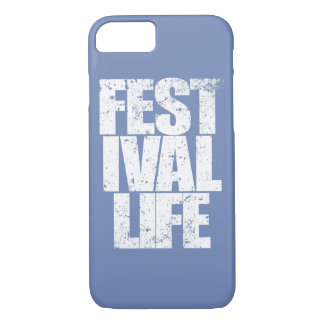 FESTIVAL LIFE (wht) iPhone 8/7 Case