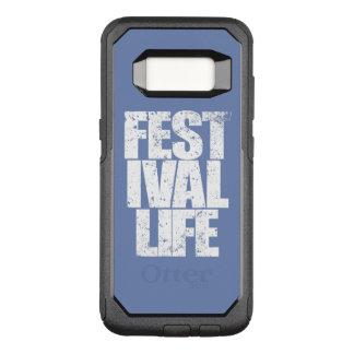 FESTIVAL LIFE (wht) OtterBox Commuter Samsung Galaxy S8 Case