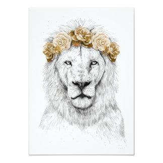 Festival lion II Card