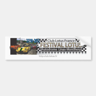 Festival Lotus CLF - Montlhéry 2012 Bumper Sticker