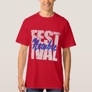Festival Newbie (wht) T-Shirt