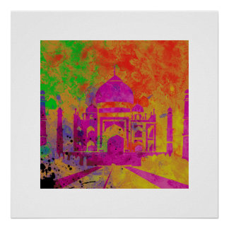 FESTIVAL OF COLOURS HOLI AT THE TAJ POSTER