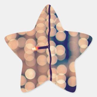 Festival Of Lights. Happy Diwali ! Bokeh Star Sticker