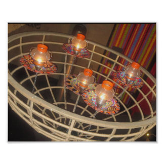 FESTIVAL of Lights: Lamps in a Basket beautiful AR Poster