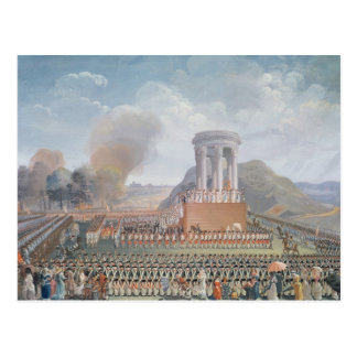 Festival of the Federation, 14th July 1790 Postcard