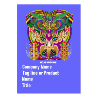Festival Party Theme  Please View Notes Business Card Template