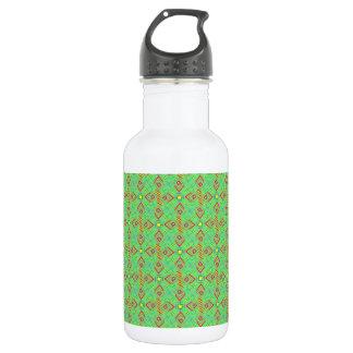festival pattern green/mint 532 ml water bottle