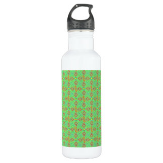 festival pattern green/mint 710 ml water bottle