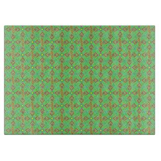 festival pattern green/mint boards