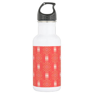 festival pattern peach 532 ml water bottle