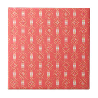 festival pattern peach ceramic tiles