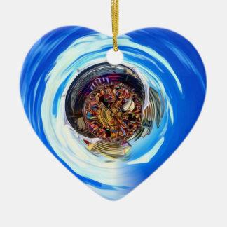 Festival Portal Ceramic Heart Ornament