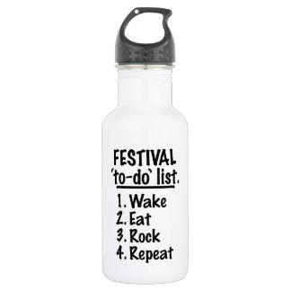 Festival 'to-do' list (blk)