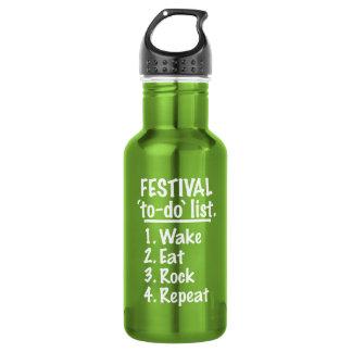 Festival 'to-do' list (wht)