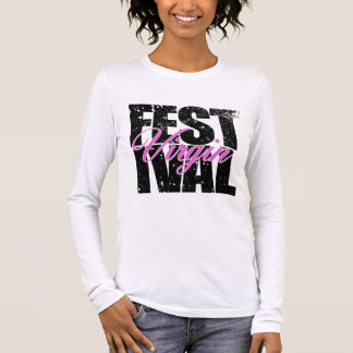 Festival Virgin (blk) Long Sleeve T-Shirt