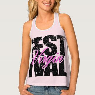 Festival Virgin (blk) Tank Top
