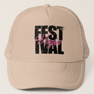 Festival Virgin (blk) Trucker Hat