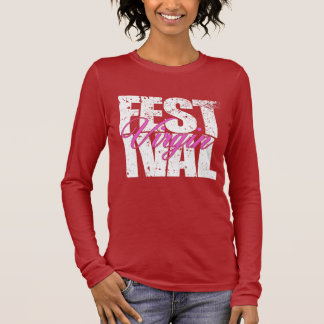 Festival Virgin (wht) Long Sleeve T-Shirt