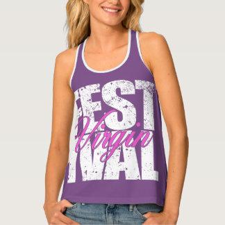 Festival Virgin (wht) Tank Top