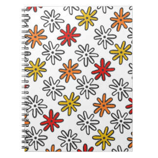 Festive Abstract Stars Notebook