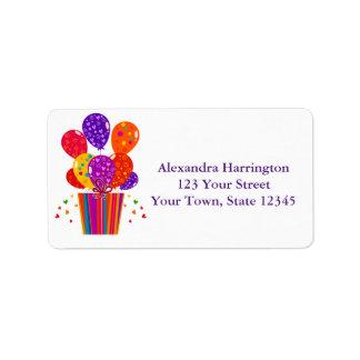 Festive Birthday Balloons, Gift