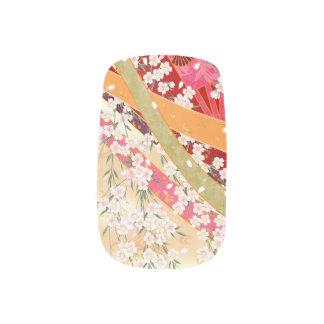 Festive cherry sakura Nail Art