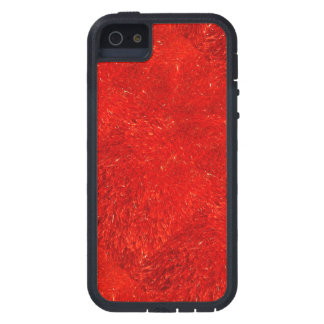 Festive Chic Bright Red Color Pattern iPhone 5 Covers