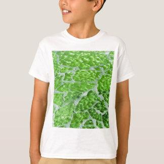 Festive Chic Glitter Green Stone Sparkles T-Shirt