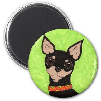 Festive Chihuahua Magnet