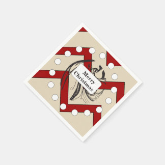 Festive Christmas Napkin Disposable Napkin