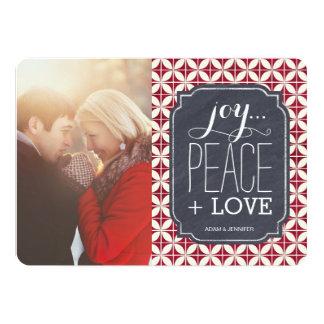"""Festive Christmas Photo Cards 5"""" X 7"""" Invitation Card"""