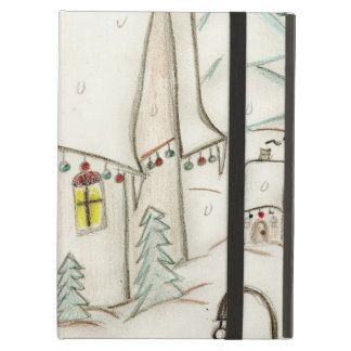 Festive Christmas scene iPad Air Case