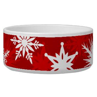 Festive Christmas snowflakes
