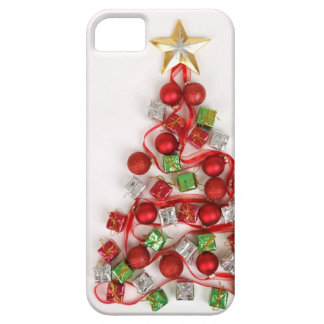 Festive Christmas Tree iPhone 5 Cover