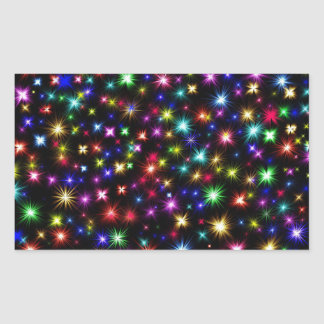 festive colorful fireworks holiday stickers