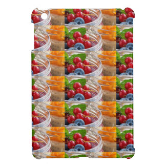 Festive colorful fruits background festivals gifts cover for the iPad mini