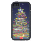 Festive Colourful Christmas Tree (Customize It!) iPhone 5 Cover
