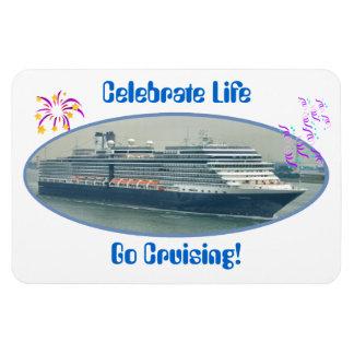 Festive Cruise Premium Magnet