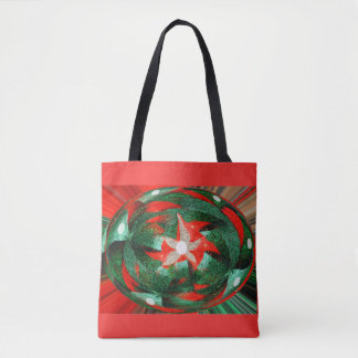 Festive fashion tote bag