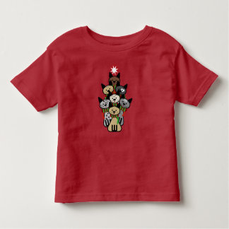 Festive Felines Christmas Toddler T-shirt