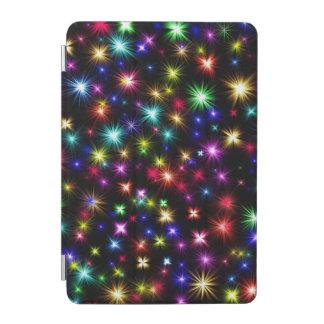 Festive fireworks colorful ipad mini cover
