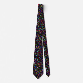 Festive fireworks holiday celebration tie