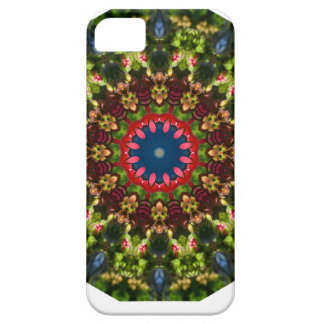 Festive Flowers Nature, Flower Mandala iPhone 5 Covers