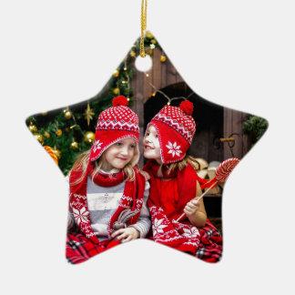 Festive Gifts Ceramic Ornament