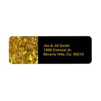 Festive Gold Foil