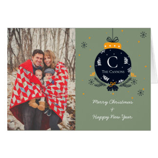 Festive Greetings card | Custom Photo Cards