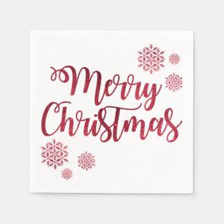 Festive Greetings Paper Napkins