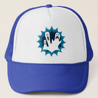 Festive Halloween Ghosts Trucker Hat