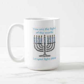 Festive Hanukkah Mug