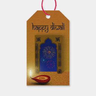 Festive Happy Diwali Fireworks - Gift Tag
